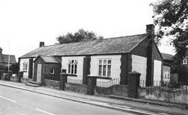 Photo:Barnstone village Hall on Main Street in 1979