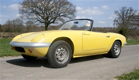 Photo:ABOVE: A Lotus Elan bodied by Bourne's of Netherfield, Nottingham