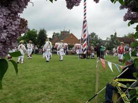 Photo:Wellow May Day Celebrations in 2010