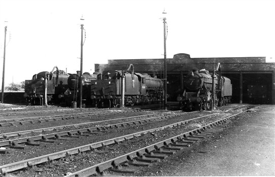 Photo: Illustrative image for the 'Annesley Loco Sheds and Yards' page