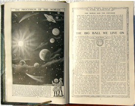 Photo:A typical spread from the Encyclopedia
