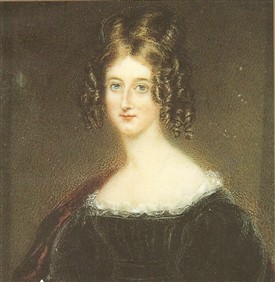 Photo:Byron's sister Augusta