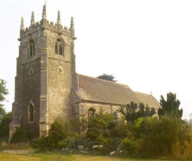 Photo:St Michael's Church, Averham