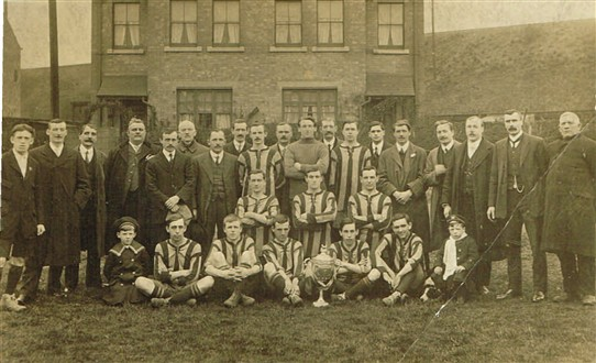 Photo: Illustrative image for the 'Basford United Football Club - pre First world War' page