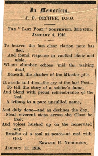 Photo:From the Newark Advertiser 12th January 1916