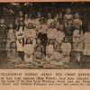 Page link: Collingham School Girls collect for the Red Cross, 1917