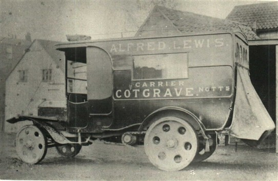 Photo: Illustrative image for the 'Alfred Lewis, Carrier of Cotgrave' page