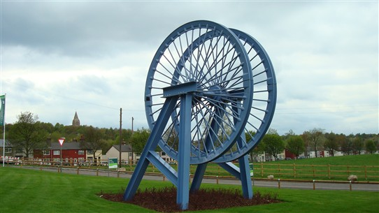 Photo:The Annesley Colliery Memorial - 2009