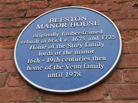 Photo: Illustrative image for the 'Beeston Manor House' page