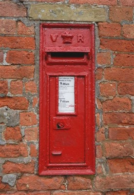 Photo:Victorian wall box by W.T. Allen