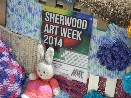 Photo: Illustrative image for the 'Yarn Bombing in Sherwood, June 2014' page