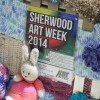 Page link: Yarn Bombing in Sherwood, June 2014