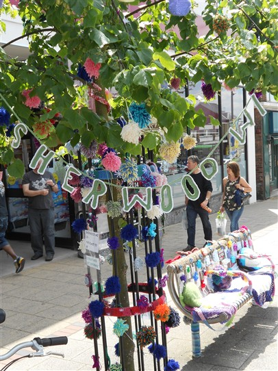 Photo:Signing Off - Sherwood WI - who produced these marvellous street decorations