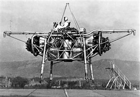Photo:Flying Bedstead VTOL test-rig