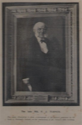 Photo:Frederick John Turner, land agent to the Duke of Portland, c1900