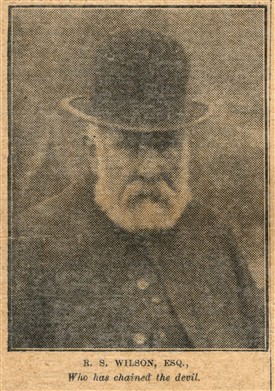 Photo:Mr Wilson from 'The Golden Penny' May 4th 1901