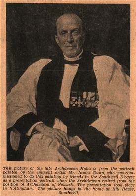 Photo: Illustrative image for the 'HALES, Revd. John Percy DSO, OBE, TD, MA [of Southwell]' page