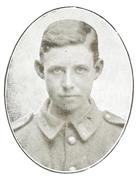 Photo:Herbert Jenkinson Smith in The Borough of Worksop Roll of Honour in the Great War 1914 - 1918