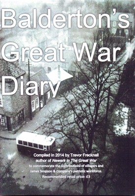Photo: Illustrative image for the 'Balderton's Great War Diary' page