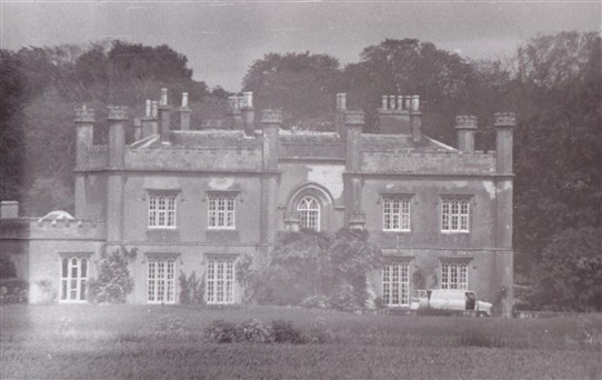 Photo:Wiverton Hall from the south west.