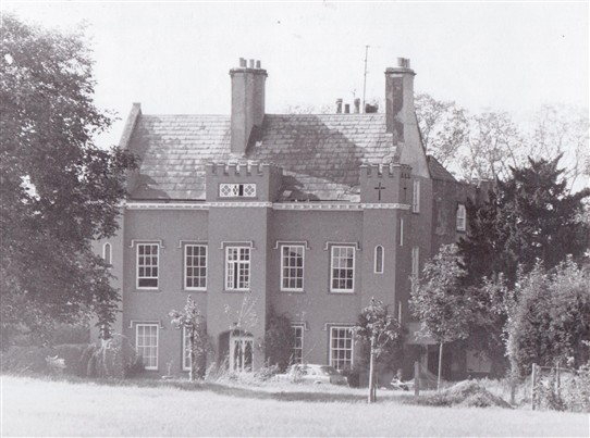 Photo:Bleasby Hall in September 1979