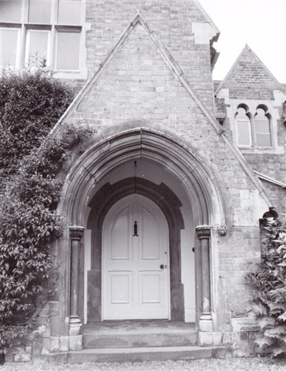 Photo:Epperstone Grange: Main entrance, July 1978