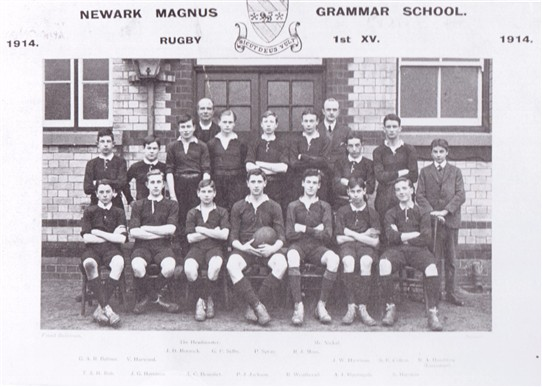 Photo: Illustrative image for the 'The Magnus Grammar School in wartime' page