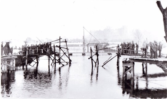 Photo: Illustrative image for the 'Bridge Building on the River trent' page