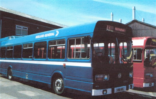 Photo: Illustrative image for the 'Midland General buses' page