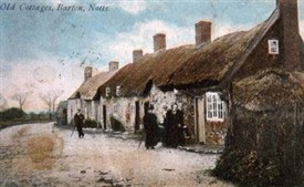 Photo:Cottages at 'Little Lunnon' at Barton-in-Fabis c.1905