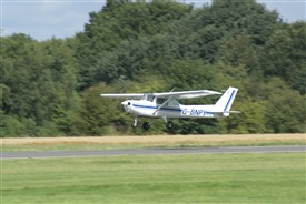 Photo:Light aircraft operating from Gamston 2014