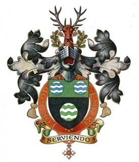 Photo:Gibson family crest