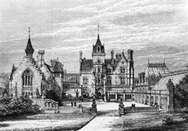 Photo:Bestwood Lodge in 1878