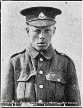 Photo:Pte H. Reville, Sherwood Foresters