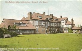 Photo:Back view of Dukeries Hotel 1896