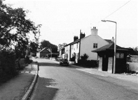 Photo:Langar Main Street in 1976