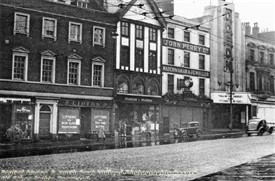 Photo:Buildings on Angel Row Nottingham (Including the Odeon Cinema) 1955