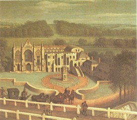 Photo:Newstead in the 18th Century