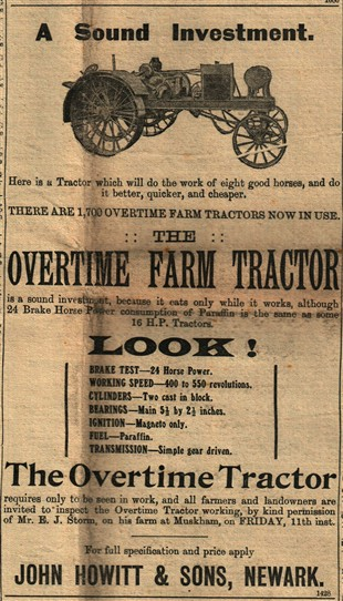Photo:The Overtime Tractor
