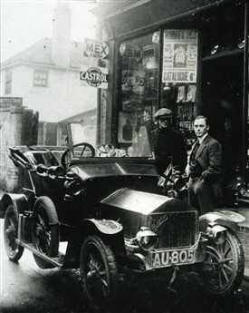 Photo: Illustrative image for the 'A 'Briton' Motor Car in Newark' page