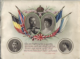 Photo:Front cover of the 1914 booklet.
