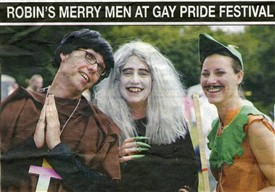 Photo: Illustrative image for the 'Nottingham's Pride festivals' page