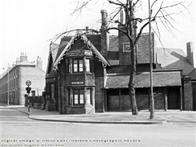 Photo:Police station Queen's Walk 1961