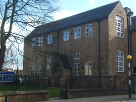Photo:The Grammar School, Mansfield - as it appears today (2014)