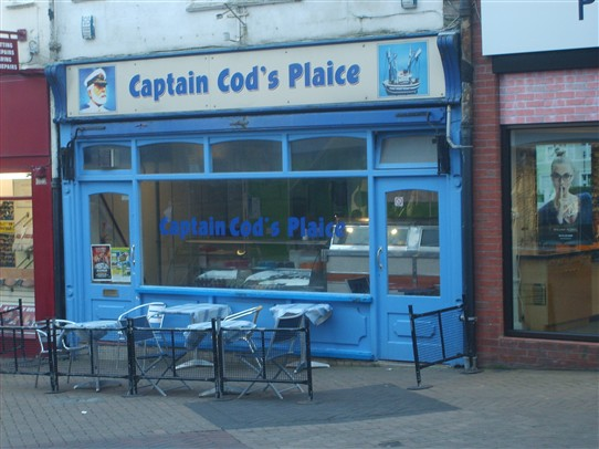 Photo:Fish & Chip shop, Mansfield