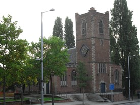 Photo:St.Nicholas' church on Maid Marian Way, Nottingham