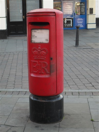 Photo: Illustrative image for the 'Pillar Boxes' page