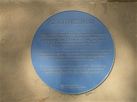 Photo:The blue plaque on the House of Correction today