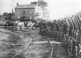 Photo: Illustrative image for the 'Huntingdon Beaumont & Britain's First Railway' page