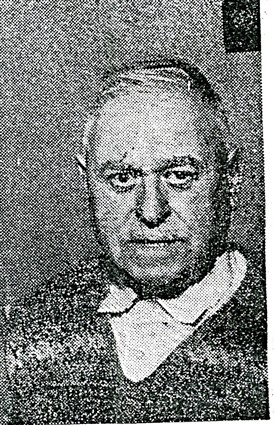 Photo:Mr Joseph Slapp of Bingham in 1960 at the time of his Golden wedding anniversary